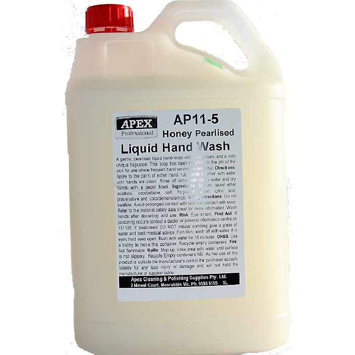 apex honey hand wash