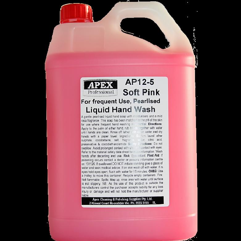 apex soft pink liquid handwash
