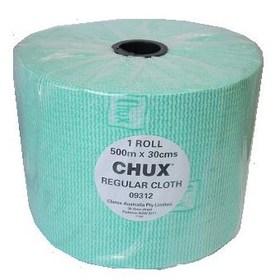 chux regular green cloths 500m