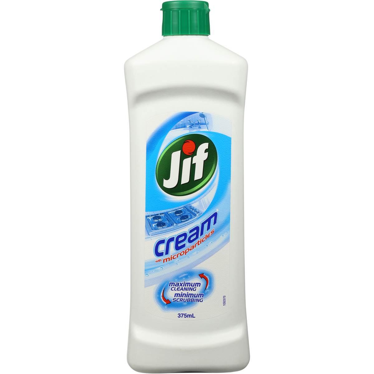jif cream cleanser 375ml