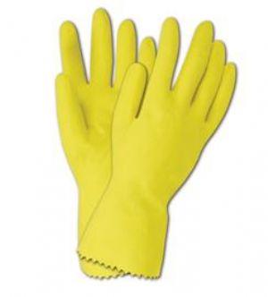 Mediflex flock yellow glove