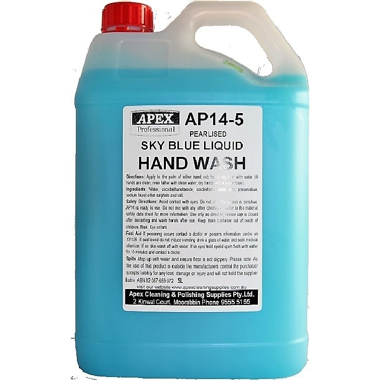 apex skyblue liquid handwash