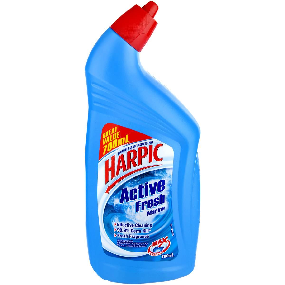harpic active toilet cleaner marine