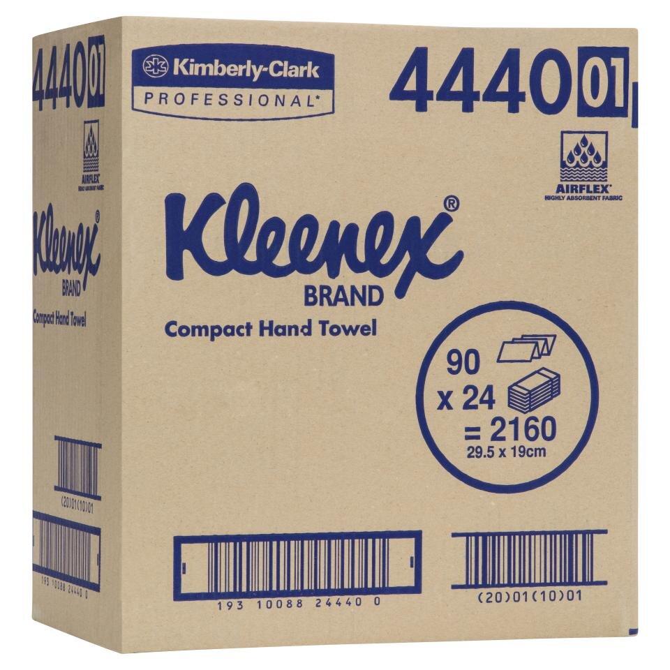 kleenex compact towel carton