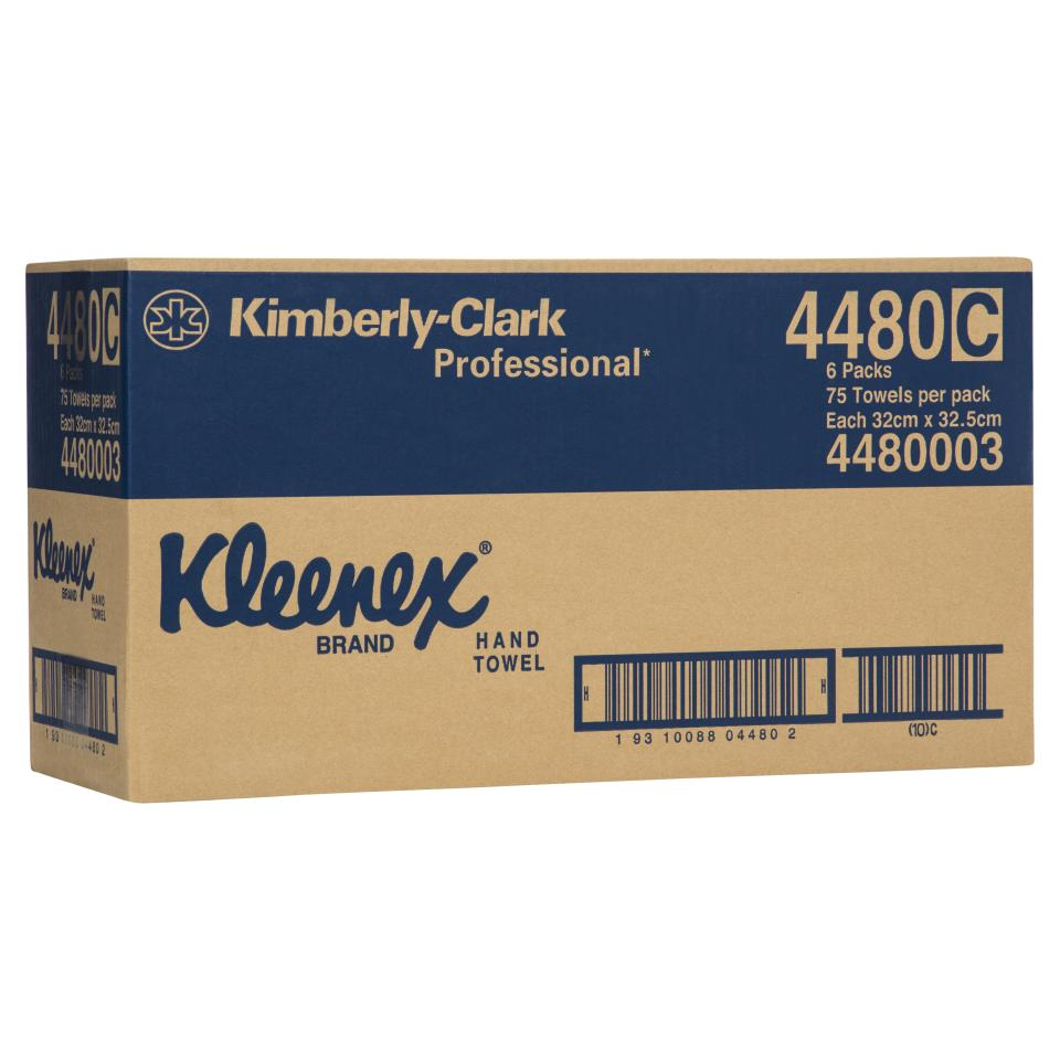 kleenex executive hand towel carton