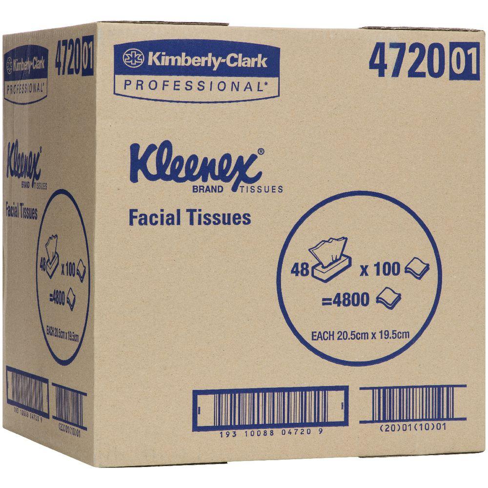 kleenex facial tissues carton