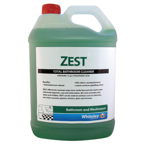 whiteley zest total bathroom cleaner