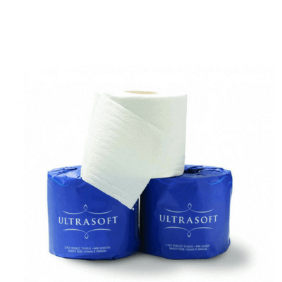 caprice ultrasoft toilet paper wrapped
