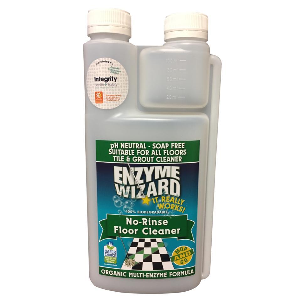 enzyme wizard norinse floor cleaner