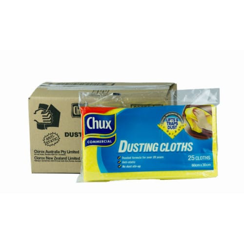 chux dusting cloths