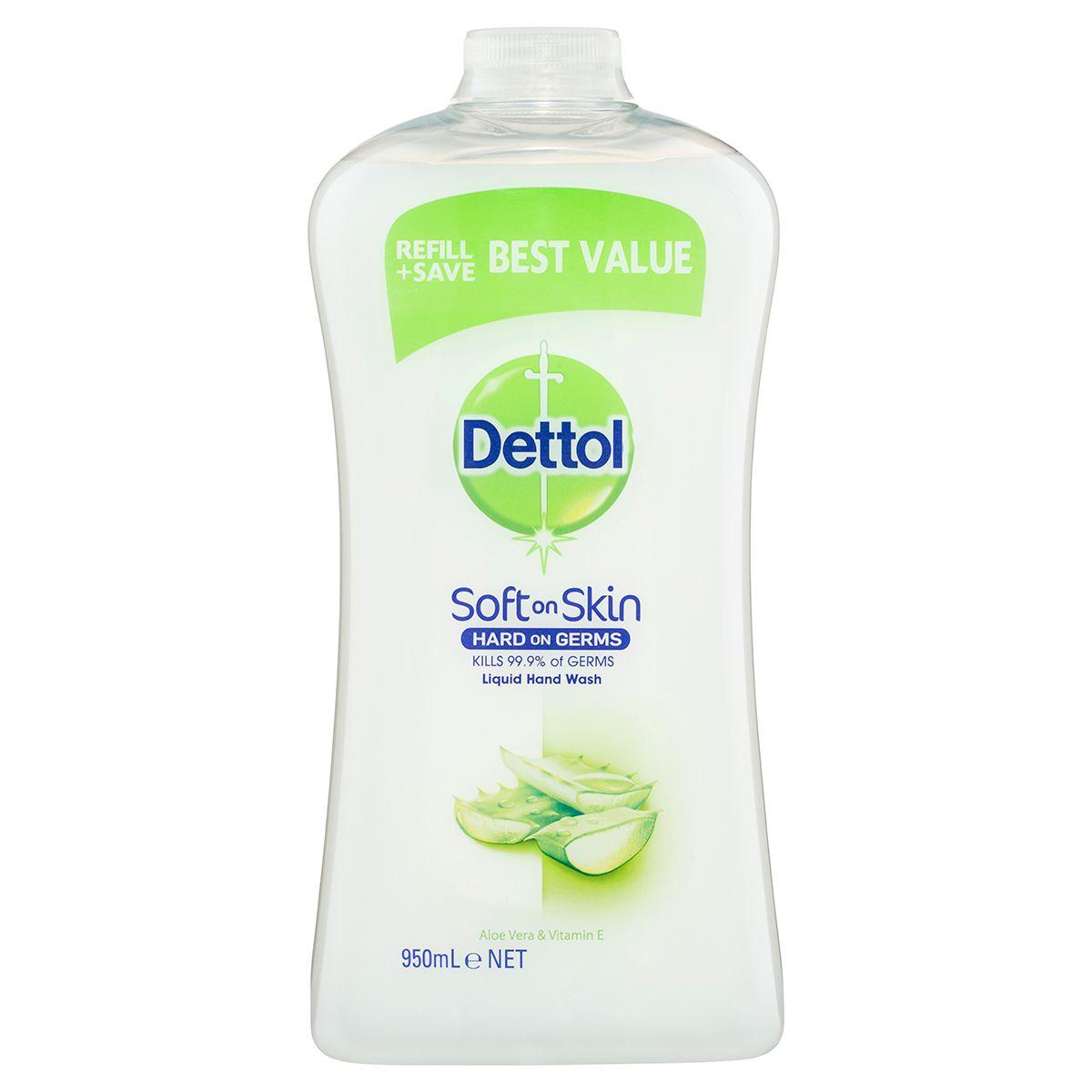 dettol liquid handwash lemon refill