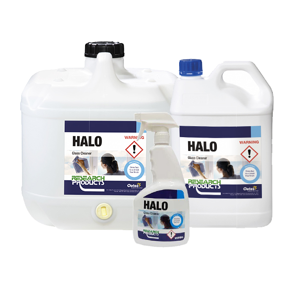 halo fast dry glass cleaner