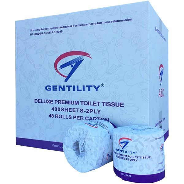 gentility deluxe premium toilet tissues