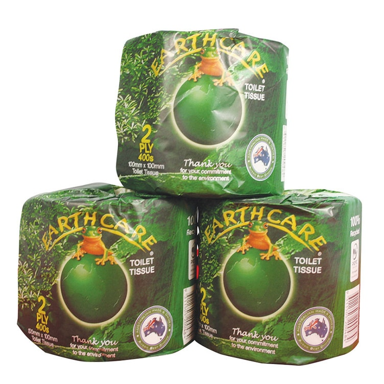 earthcare recycled toilet tissue