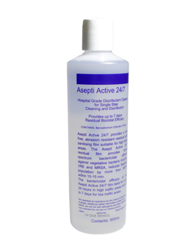 asepti active hospital grade disinfectant